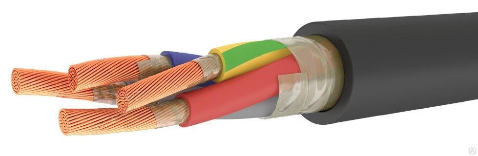 Кабель КГ-ХЛ 5х16 в резиновой изоляции