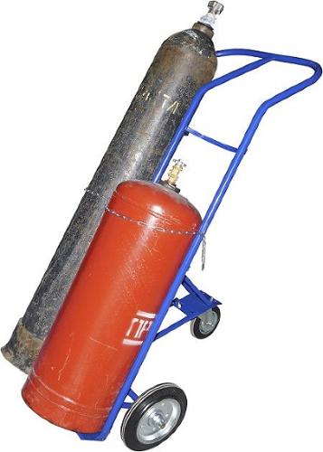 Тележки для газовых баллонов - особенности и преимущества